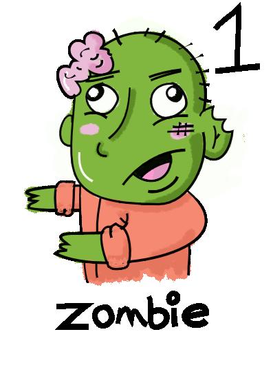 Zombie (Enemy - Level 1)