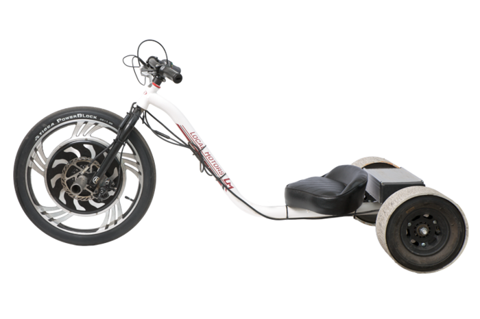 verrado electric drift trike by local motors by local