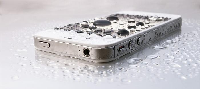 No More Wet Phones!