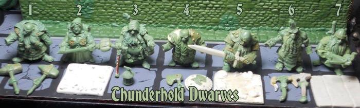 Thunderhold Dwarves #1-7