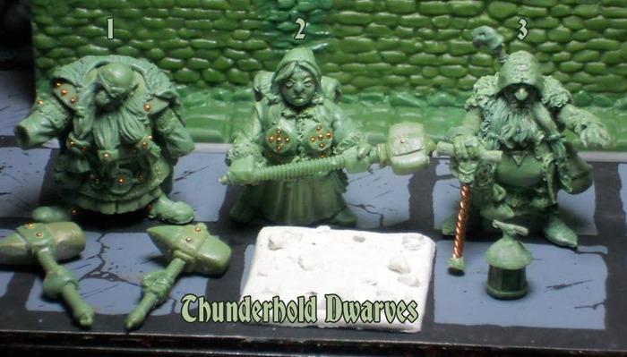 Thunderhold Dwarves #1-3