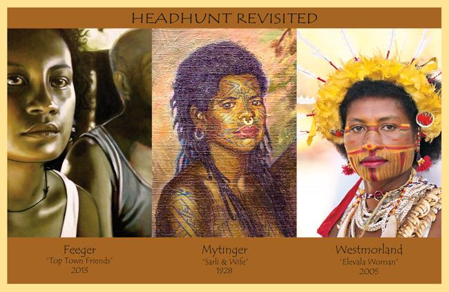 Three Women Postcard