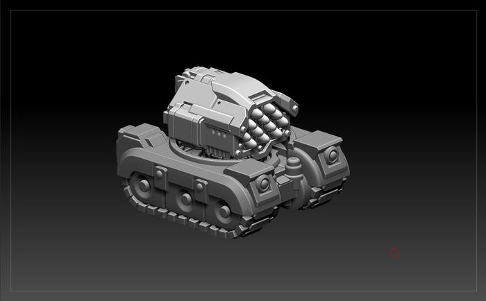 Kickstarter: Mechadrome 95891adc30241ab3cc04432df454808e_large