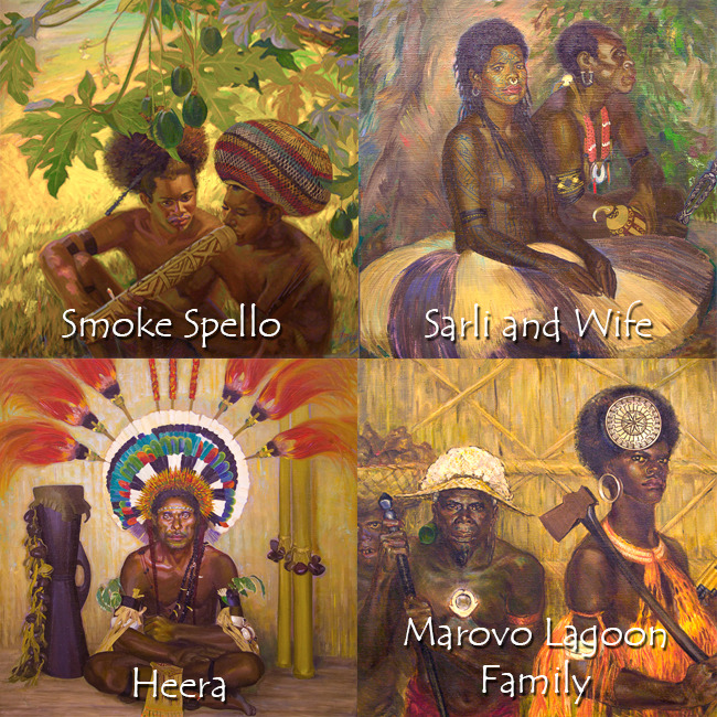 Canvas Prints of Paintings by Caroline Mytinger