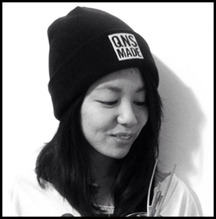 Donning a QNSMADE beanie prototype