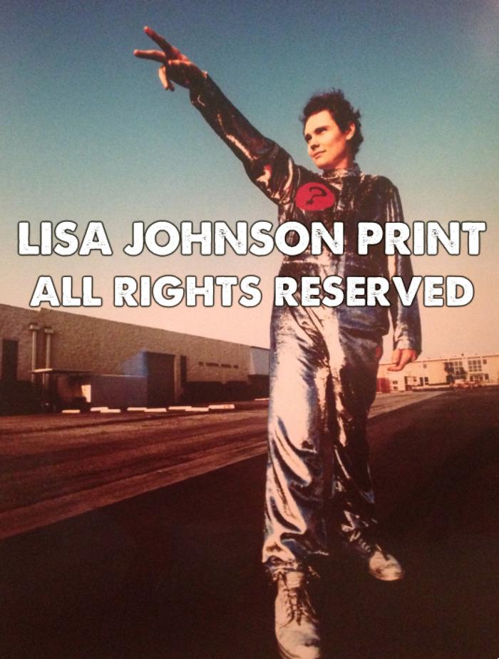 BILLY CORGAN - Silver Suit - Lisa Johnson Rock Photographer
