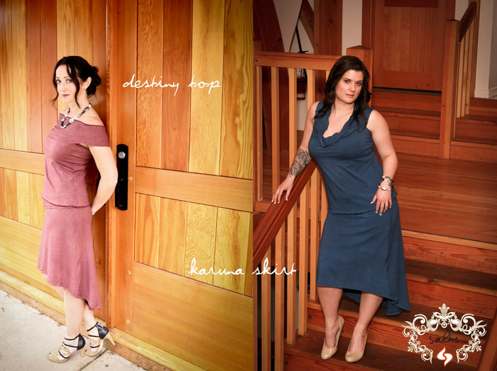 Destiny Top and Karuna Skirt