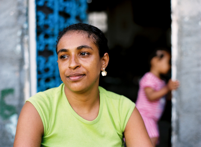 Fernanda, Favela Santa Marta, 2012