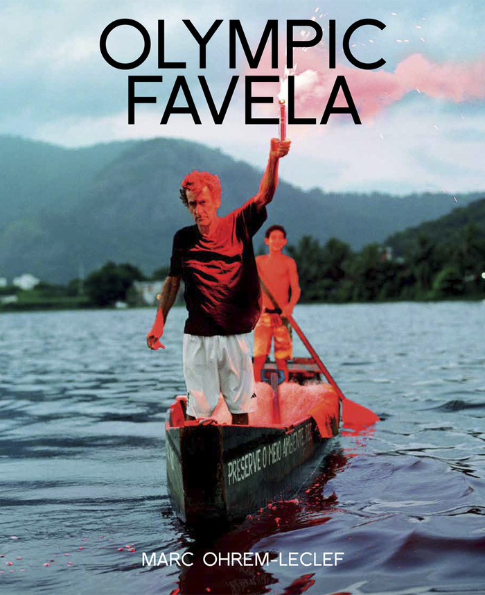 """Book cover; """"Seu Barrao com Tiago, Lagoa Japarepagua, 2013"""""""
