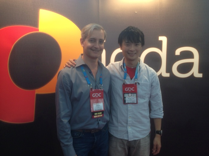 Hiro & Ed during GDC 2014