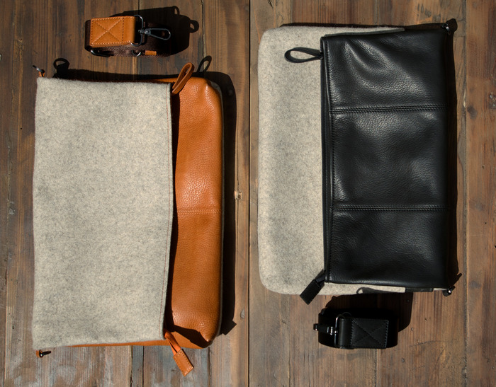 Messenger Bag with strap removed