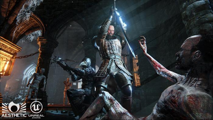 Dead Crusade powered by Unreal Engine 4 on Kickstarter screenshot2