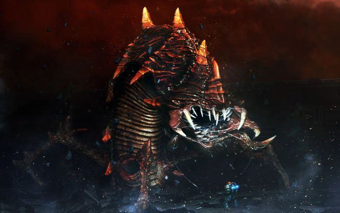 The great worm, we wish to add the whole story, missions and buge boss fight with this epic nemesis