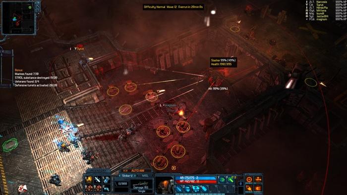 Bunker up! Some amazing bunker defense action in this exclusive new Kickstarter screenshot