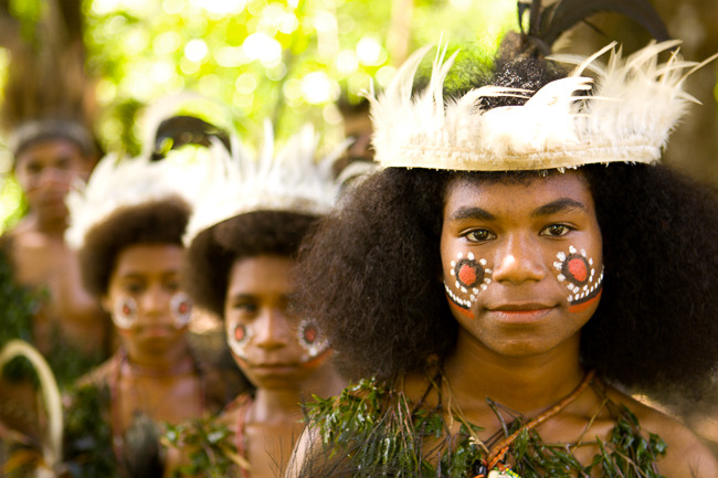Traditional Dance Show in Tawali, Papua New Guinea