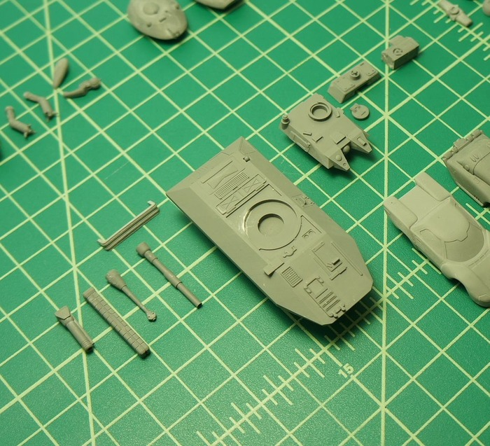 Scorpion printed parts
