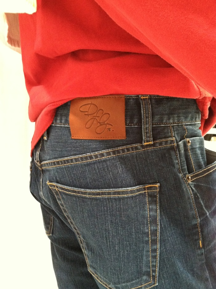 Our upcoming Dfly men's jeans