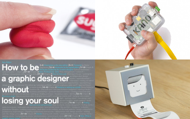 Above, clockwise, from top left: Jane Ni Dhulchaointigh (Sugru), Alex Klein (Kano), Matt Webb (Berg) and Adrian Shaughnessy (Unit Editions).