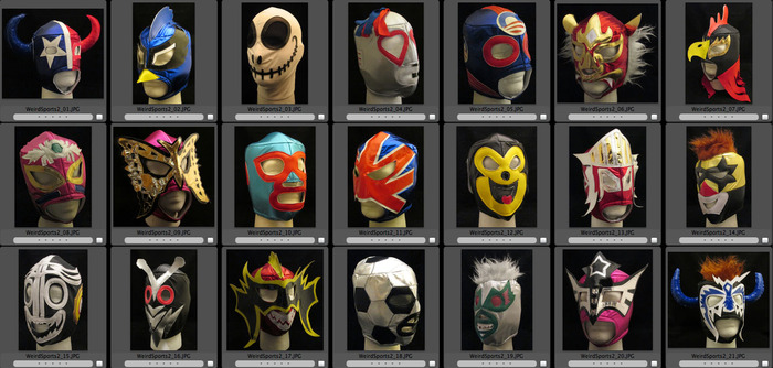 Who doesn't look GREAT in a luchador mask?
