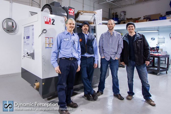Scott, John, Chris and Ryan. Oh and our new Haas CNC machine