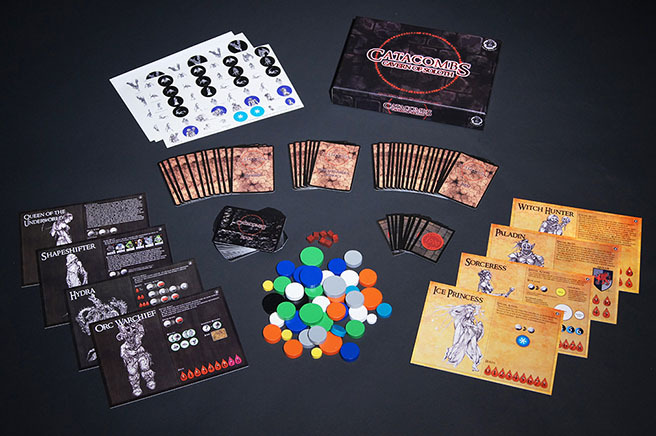 Cavern of Soloth 1st Edition components