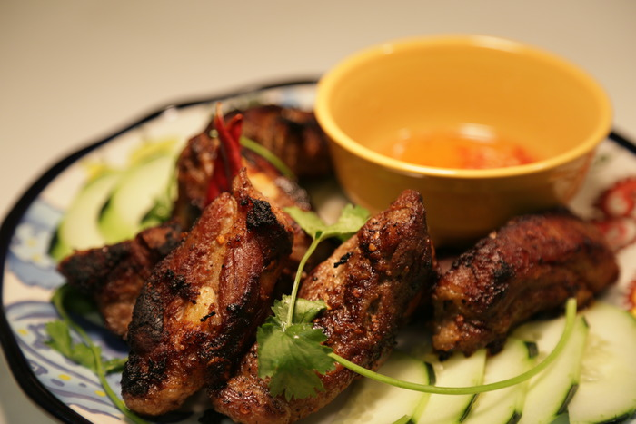 Khmer BBQ-Tired of tomato based bbq sauce? Fall in love with ribs again.