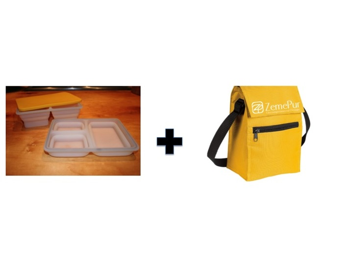 bento lunch box kickstarter zemepur the ultimate bento style lunch box set by bring our seed. Black Bedroom Furniture Sets. Home Design Ideas