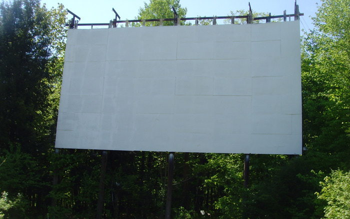 Repaired and painted screen...ready for business May 2013