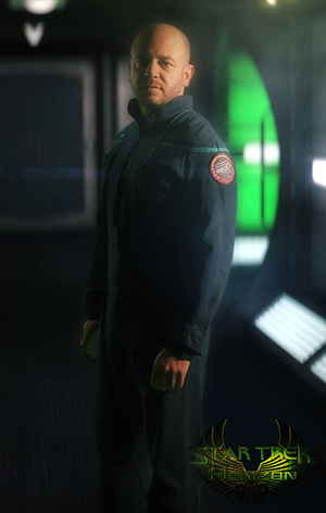 Commander Jackson Gates is the first officer of the NX-04 Discovery and a long-time friend of Captain Harrison Hawke. Logical and deeply devoted to duty, he wears the hats of first officer and chief science officer with ease.