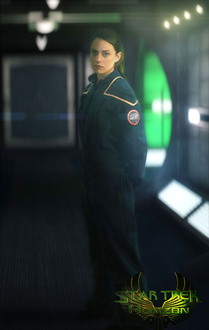 Lieutenant T'mar is a defector from the Romulan Empire. Her mission before defecting: receive genetic alterations to appear human and infiltrate Starfleet. Her mission now? Only she truly knows.