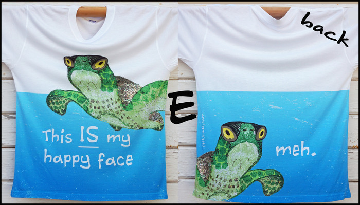 Sea Turtle T-Shirt (option E)