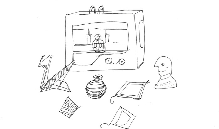 Want to be an inventor? Make ideas come alive! Sketch them on a computer, from the 3D printer they'll arrive.