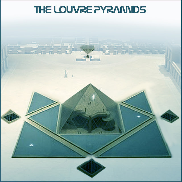 Mysteries of paris 98 the 666 triangles of the louvre s pyramid darkpari - Pyramide du louvre 666 ...