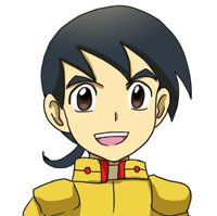 Renel: Age 11. Randy's adopted little brother who aids him on the side through thick and thin.
