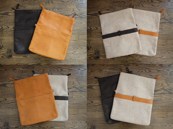 Messenger Bag 13 with Flap Open