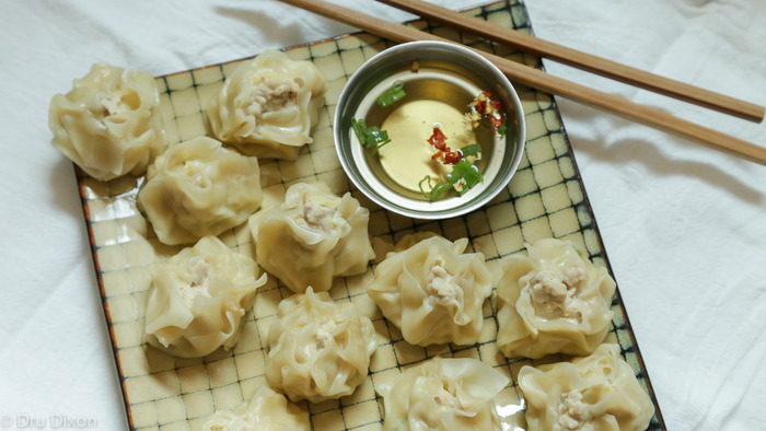 Stop by on your lunch break for quick and tasty handmade wontons.