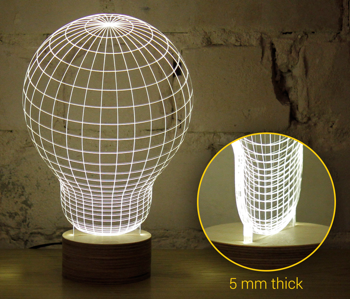 BULBING, an Optical Illusion Versatile LED Lamp by Studio Cheha ...