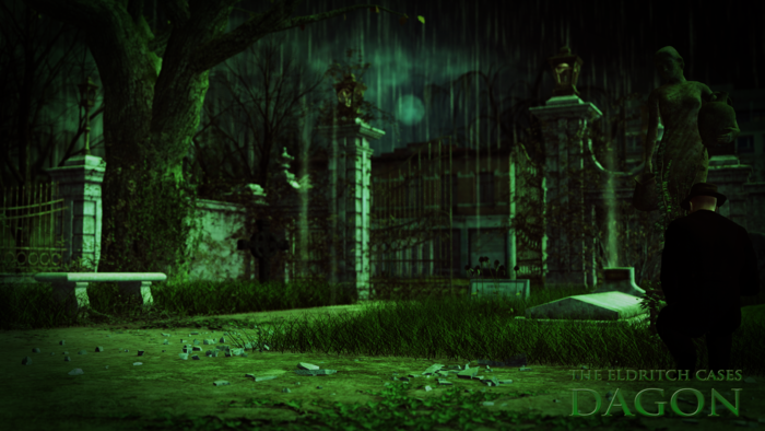 Innsmouth Graveyard. Find some peace and quiet here.