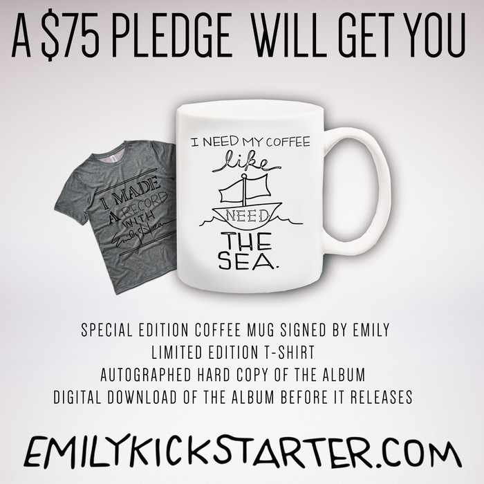 "Limited Edition ""Like Ships Need The Sea"" mug, designed by Emily!"
