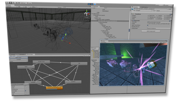 Unity3D - Free Game Development Software