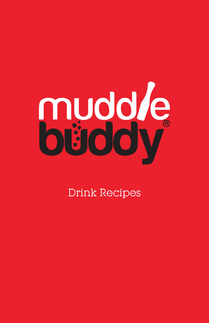 Muddle Buddy Recipe Book