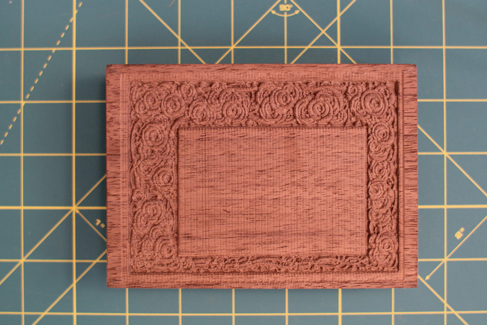 Engrave on plastic, wood, or metal