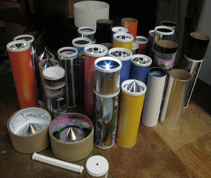 Collection of SlideOScope prototypes