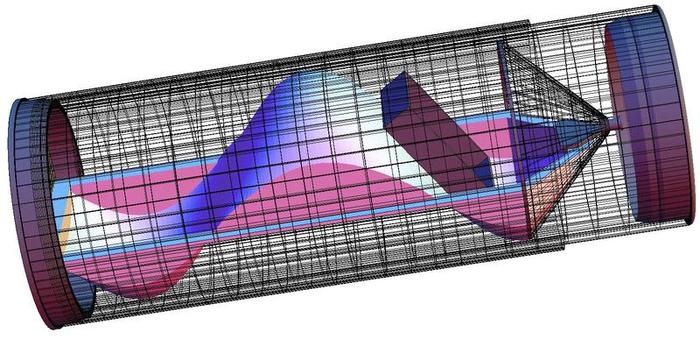 Internal construction of latest SlideOScope