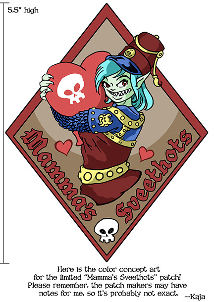 The limited-edition Mamma Gkika Patch