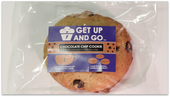 Our best-seller, and most certainly a kick in the butt when you need it most. Get Up, and finish what you started with our delicious, ready-to-go, soft-baked creation. It's infused with semi-sweet chocolate to help you Get Up when you can't do it alone.