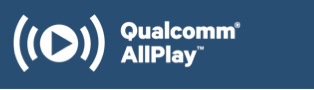 Qualcomm AllPlay is a product of Qualcomm Connected Experiences, Inc.