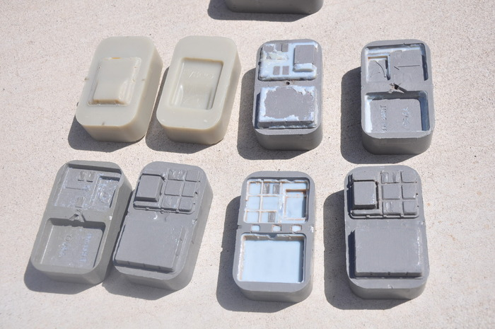 Prototype molds for injection molding