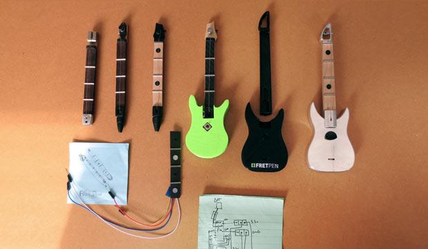 Evolution of FretPen Prototypes!