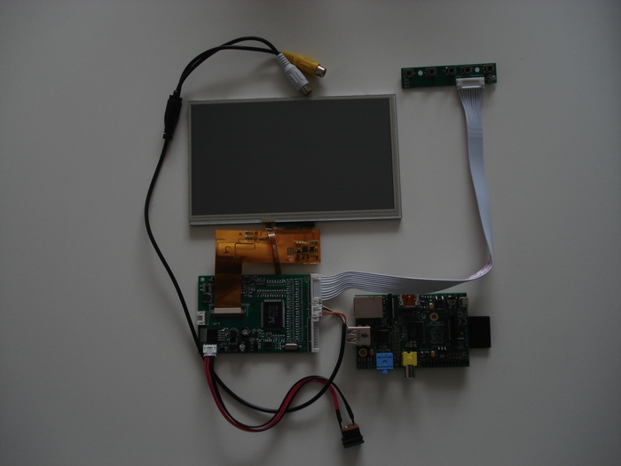 Bare Bones - Screen + Raspberry Pi